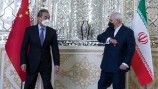 وزرای امور خارجه ایران و چین