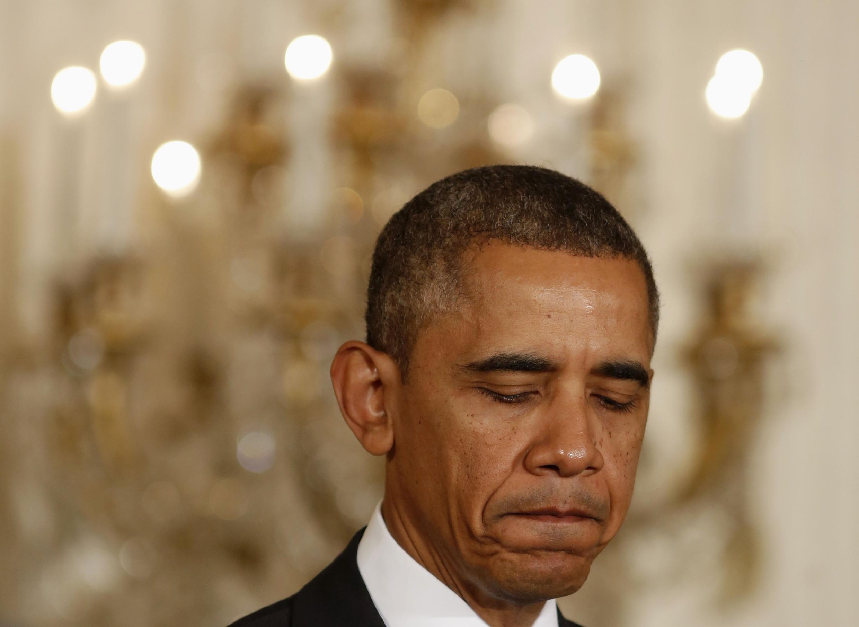 Barack Obama em foto do dia 24 de outubro de 2013, em Washington.