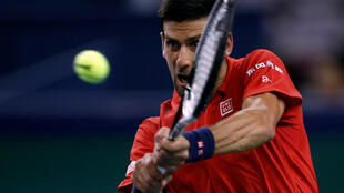 Novak Djokovic beat Kei Nishikori in straight sets.
