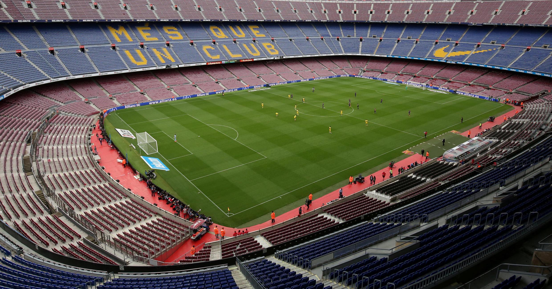 Así se jugó el Barcelona-Las Palmas de este 1 de octubre de 2017, a puerta cerrada y totalmente vacío.