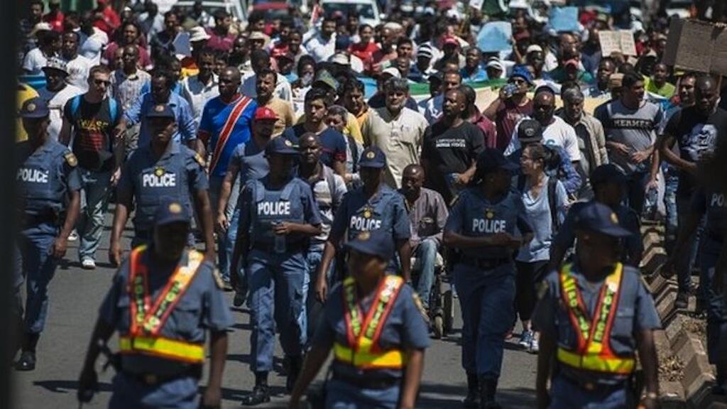 Kwa wiki kadhaa, mashambulizi dhidi ya raia kutoka katika Ukanda wa Jangwa la Sahara yameendelea kushuhudiwa Johannesburg.