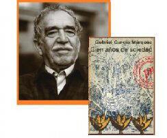 Gabriel García Márquez y son oeuvre phare « Cent ans de solitude ».