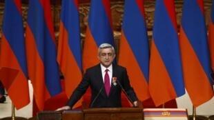 سرژ سرکیسیان- رئیس جمهوری ارمنستان