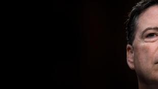 L'ex-directeur du FBI James Comey le 8 juin 2017 lors de son audition devant le Sénat américain.