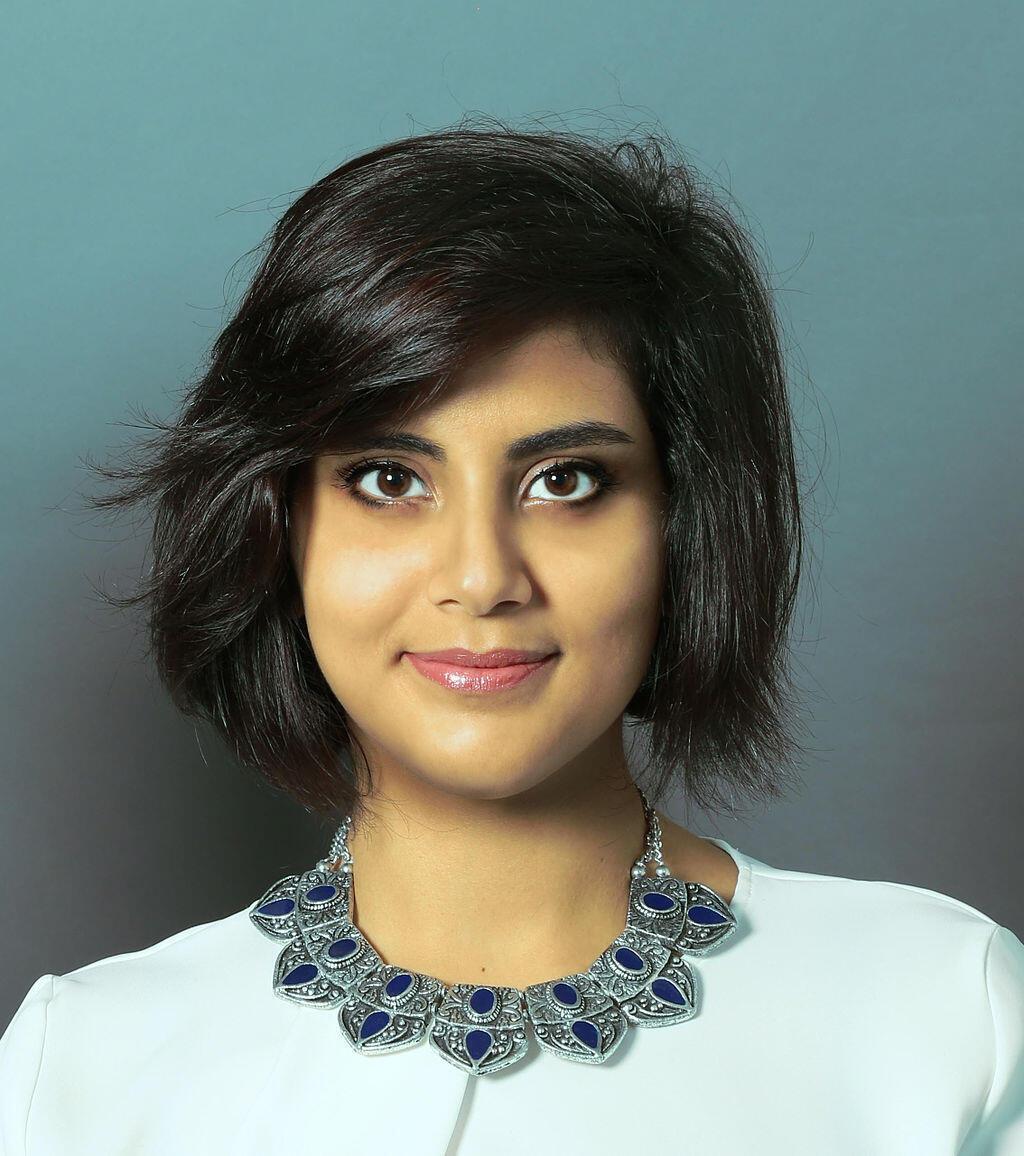 A ativista saudita  Loujain al Hathloul, muita conhecida nas redes sociais.