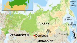 Carte de Sibérie.