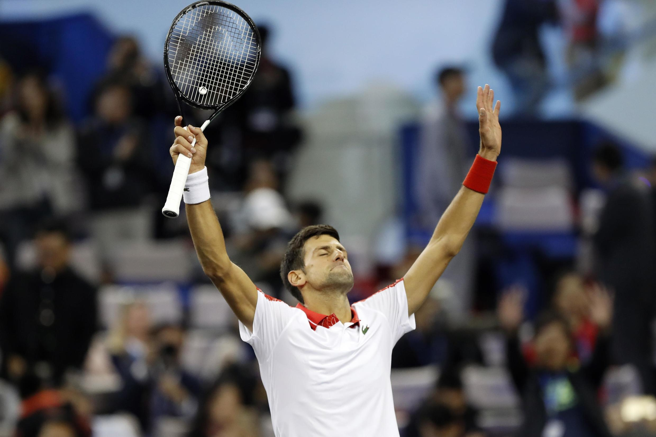 Novak Djokovic will rise to world number two as a result of his performances in Shanghai.