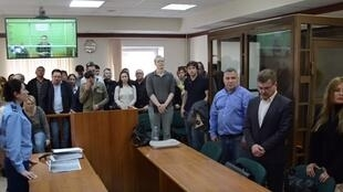 Судебное заседание по делу «Нового величия», 24 октября 2019 года.