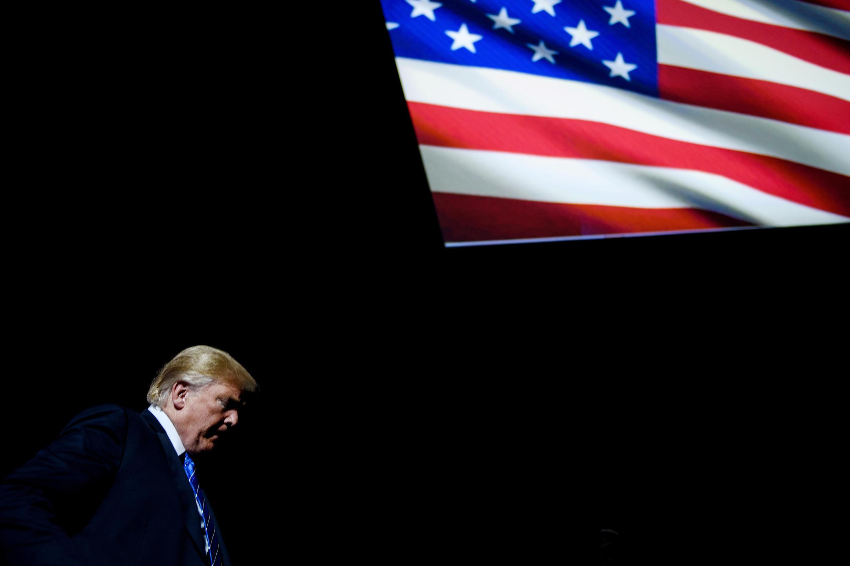Le président des Etats-Unis Donald Trump, le 24 juillet 2018.