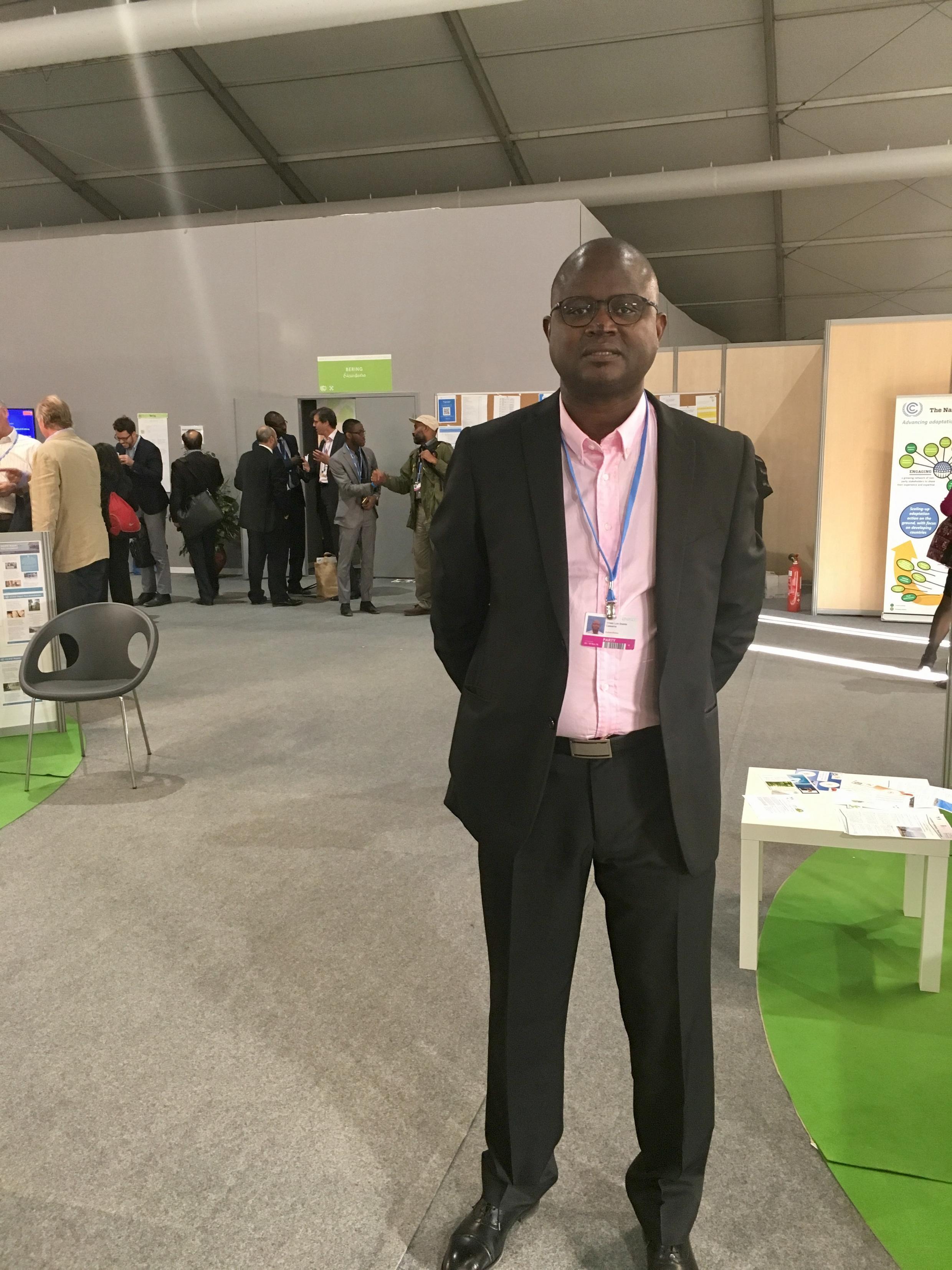 Viriato Cassama, ponto focal para as alterações climáticas da Guiné-Bissau