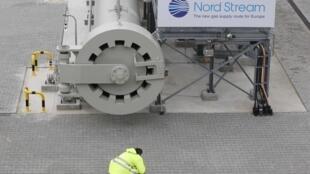 Terminal do gasoduto Nord Stream, em Lubmin, na costa báltica da Alemanha.