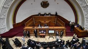 L'Assemblée nationale est la place forte de l'opposition au Venezuela (photo d'illustration).