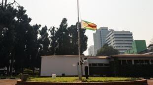L'école Queen Elizabeth à Harare, le 30 mars 2020.
