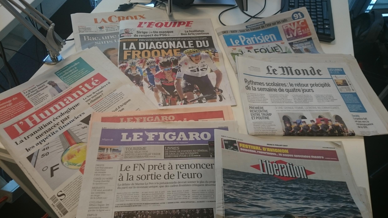 Diários franceses 06.07.2017