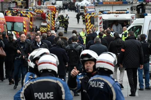 پلیس فرانسه در اطراف خانه یک فرد مظنون به شرکت در اقدام های تروریستی