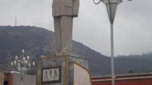 Tượng Mao Trạch Đông ở Lệ Giang, Vân Nam.