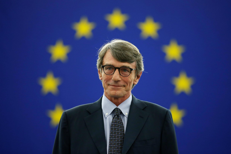 David Sassoli novo presidente do Parlemento Europeu eleito a 3/07/2019