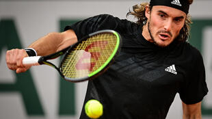 Stefanos Tsitsipas reached his first semi-final at the French Open after an impressive straight sets win over the 13th seed Andrey Rublev.