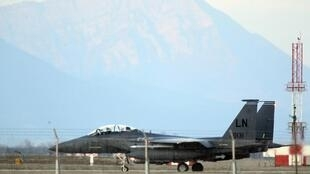 Máy bay F-15 tham gia vào phi vụ Mỹ-Nhật - REUTERS /A. Garofalo
