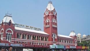 Chennai's main railway station