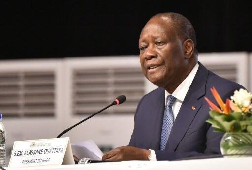 Le président ivoirien Alassane Ouattara (image d'illustration)