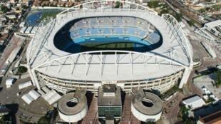Le stade olympique à Rio de Janeiro au Brésil