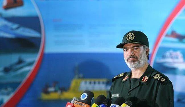 دریادار علی فدوی، فرماندۀ نیروی دریایی سپاه پاسداران ایران
