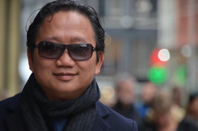 Ông Trịnh Xuân Thanh tại Berlin, Đức. Ảnh chụp ngày 20/10/2016.