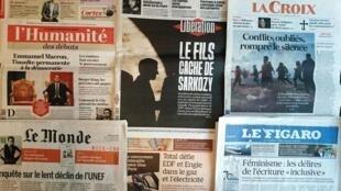 Diários franceses desta sexta-feira 06 de Outubro de 2017.