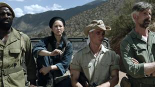"""Nữ diễn viên Phạm Linh-Đan trong phim """"Qu'un Sang Impur..."""" ra mắt công chúng Pháp ngày 22/01/2020."""