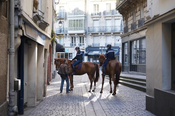 Paris intemporel (Rue des Anglais). Une épidémie s'était abattue sur la ville…