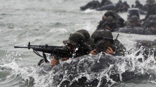 Manœuvres militaires conjointes Corée du Sud-Etats-Unis (image d'illustration).