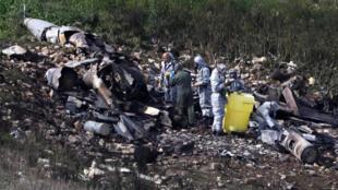 以色列空袭叙境内政府军和伊朗目标损失一架F-16战机2018年2月10日