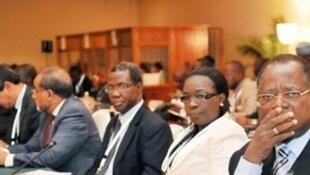 Reunião de crise da CEDEAO sobre o Mali e a Guiné-Bissau,18 de Maio 2012.