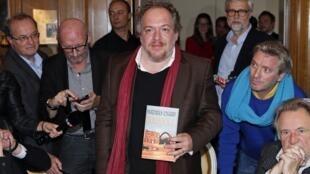 ماتیاس انار، نویسنده فرانسوی برنده جایزه گنکور