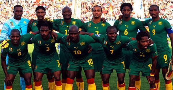 Kikosi Cha Timu ya Taifa ya Cameroon ambacho kilishiriki kwenye Mashindano ya Kombe la Dunia mwaka 2010