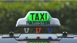 A Paris taxi