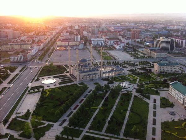Центр Грозного, Чеченская республика
