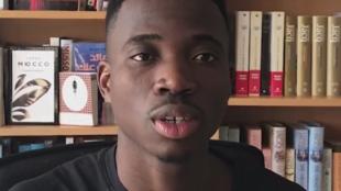 Kouamé, dans une vidéo publiée sur son compte Facebook.