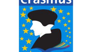 Erasmus (European Region Action Scheme for the Mobility of University Students). Programme d'échange d'étudiants et d'enseignants entre les universités et les grandes écoles européennes.