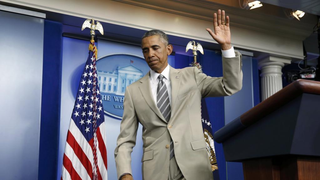 Rais wa Marekani, BArack Obama, akibaini kwamba Marekani haijawa na mpango wa kuingia kijeshi nchini Syria dhidi ya wapiganaji wa makundi ya kiislam.