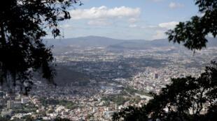 Une vue générale de la ville de Tegucigalpa, la capitale du Honduras.