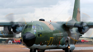 Modelo do avião Hercules C130 do exercito argelino.