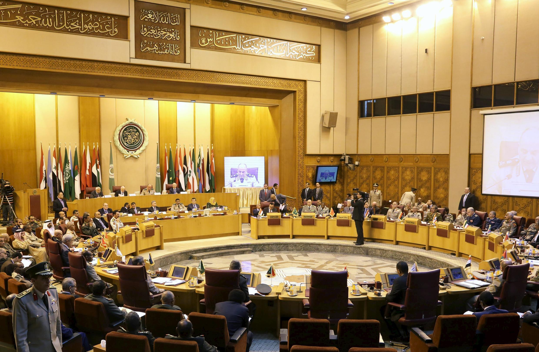Phiên họp các Bộ trưởng Quốc phòng trong khối các quốc gia Ả Rập, ngày 22/04/2015.