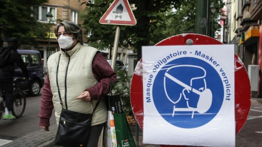 Coronavirus en Belgique: le port du masque devient obligatoire dans Bruxelles et sa région