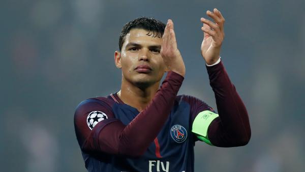 Thiago Silva, capitão do Paris Saint-Germain.