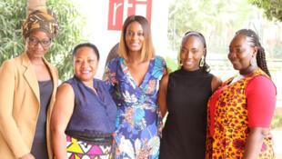 Gisèle, Tenin, Diara Ndiaye, Sadiya et Mariam.