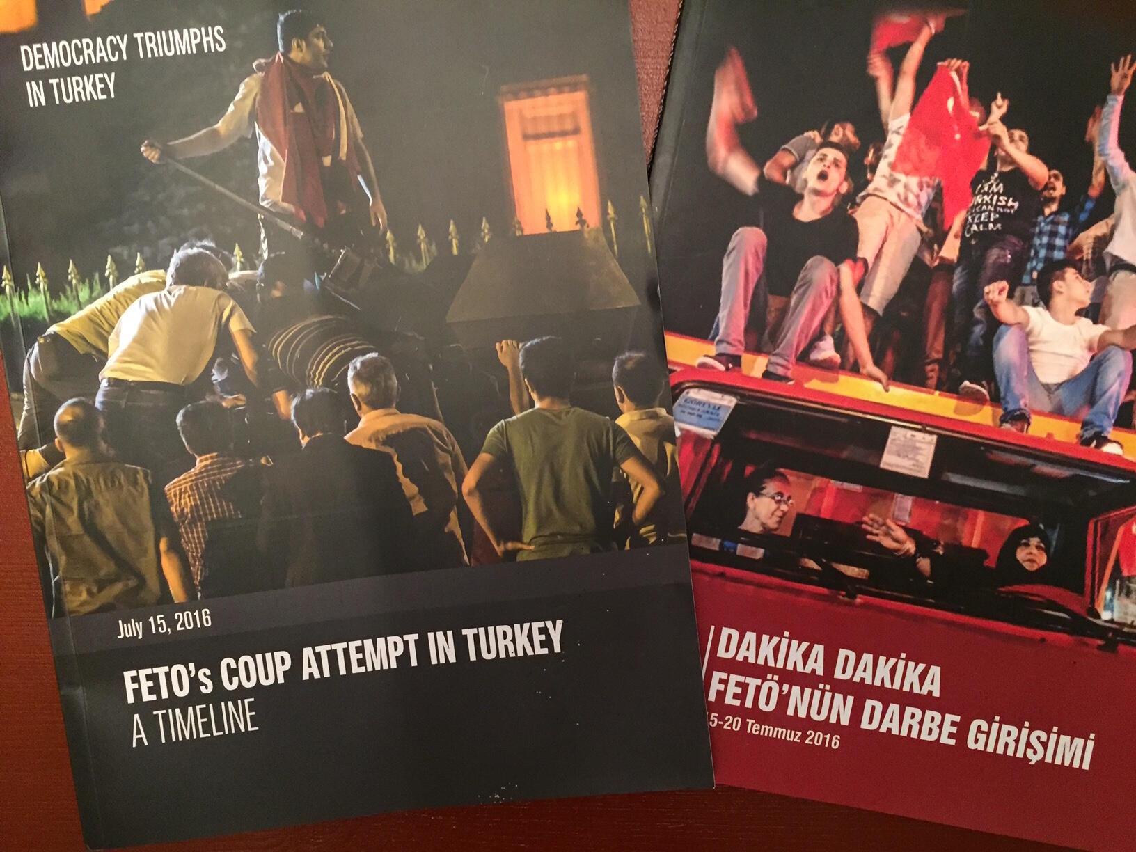 Une semaine après la tentative de putsch, l'agence semi-officielle Anadolu publiait déjà son récit des événements, traduit en plusieurs langues pour les diplomates et journalistes étrangers.