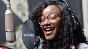 La chanteuse kényane Wambui Katee.