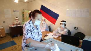 Russia vota